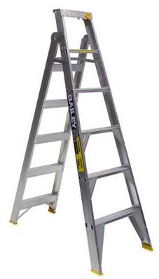 Bailey Professional Punchlock Aluminium Dual Purpose Ladder 6ft 1.8m - 3.2m | Bailey Dual Purpose Aluminium Ladder 150kg | Bailey Dual Purpose Aluminium Ladder 150kg