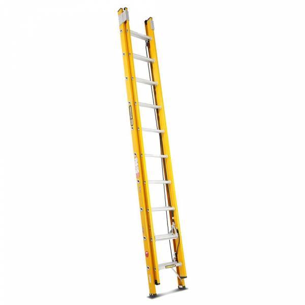 "Gorilla 3.1 - 5.3m 130kg Fibreglass Extension Ladder (10""-17""))"