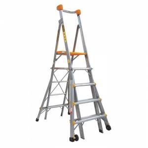 Gorilla 5-6-7-8 Adjustable Platform Ladder (NEW)