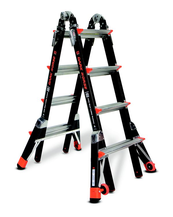 Little Giant Fibreglass Dark Horse Ladder (Model 22) | Little Giant Fibreglass Dark Horse Ladder (Model 22) | Little Giant Fibreglass Dark Horse Ladder (Model 17) | Little Giant Fibreglass Dark Horse Ladder (Model 17) | Little Giant Fibreglass Dark Horse Ladder (Model 17)