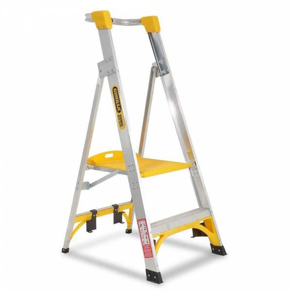 Gorilla PL002-I 2-Step 150kg Aluminium Platform Ladder