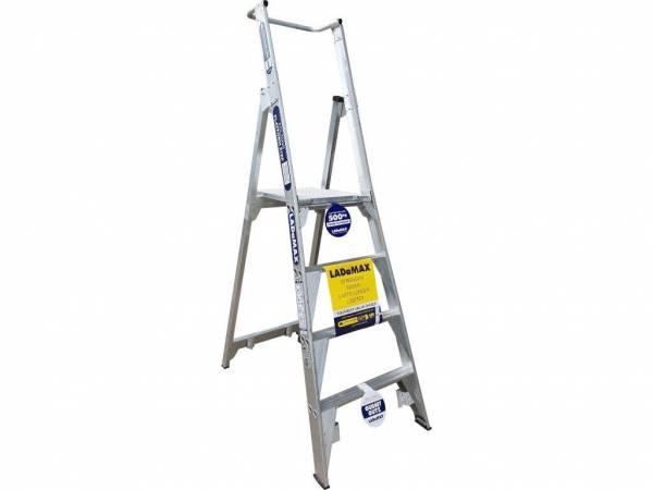 Ladamax 150KG 3 Step Platform Ladder (G) - Now $350   Ladamax 150KG 3 Step Platform Ladder (G) - Now $350