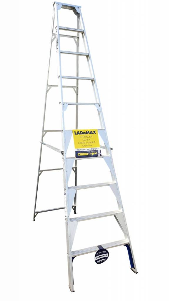 "Ladamax Aluminium 150 kg Single Sided Ladder 10 "" (3.0m) - Was $395 Now $316 | Ladamax Aluminium 150 kg Single Sided Ladder 10 "" (3.0m) - Was $395 Now $316 | Ladamax Aluminium 150 kg Single Sided Ladder 10 "" (3.0m) - Was $395 Now $316"