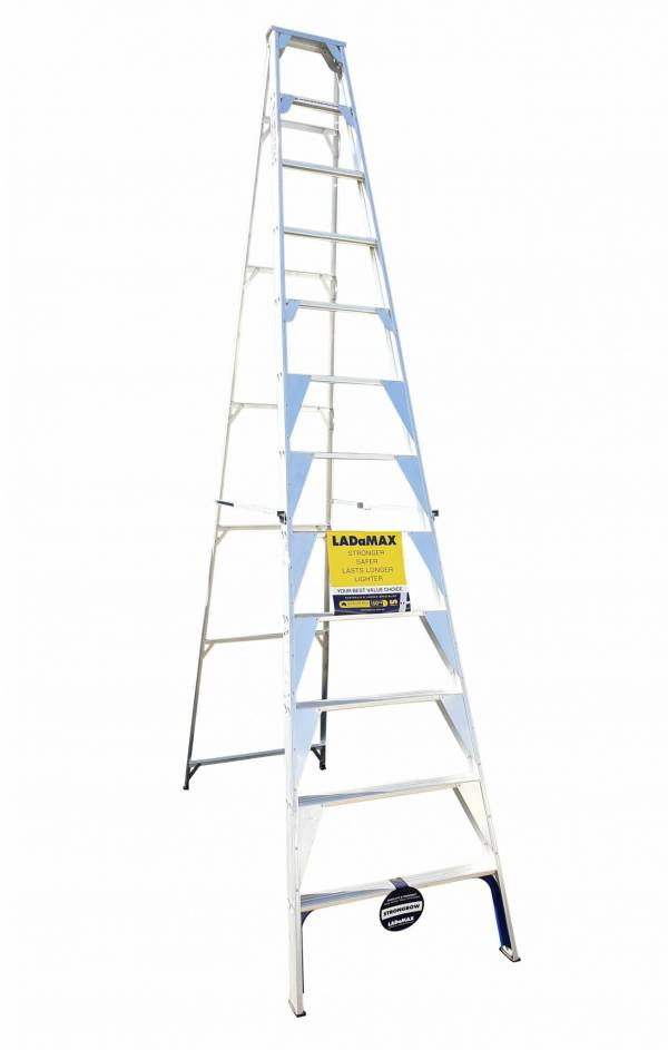 "Ladamax Aluminium 150 kg Single Sided Ladder 12"" (3.6m) - Was $520 Now $416 