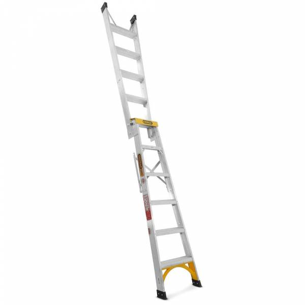 Gorilla Aluminium Dual Purpose Ladder 150 kg 6ft 1.8m - 3.2m | Gorilla Aluminium Dual Purpose Ladder 150 kg 6ft 1.8m - 3.2m