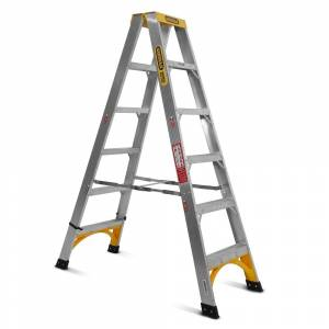 Gorilla Aluminium Double Sided Step Ladder 150 kg 6ft 1.8m