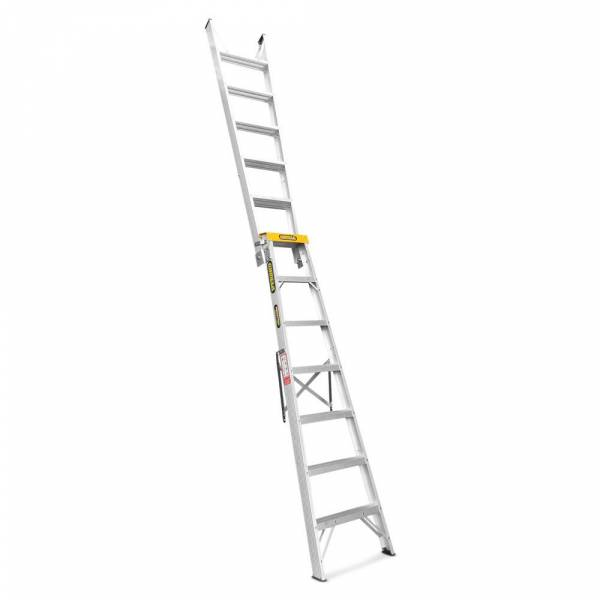 Gorilla Aluminium Dual Purpose Ladder 150 kg 7ft 2.1m - 3.9m