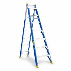Step Extension Ladders Fibreglass