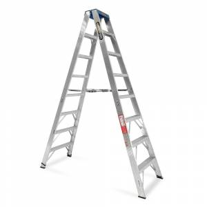 Gorilla Aluminium Double Sided Step Ladder 120 kg 8ft 2.4m