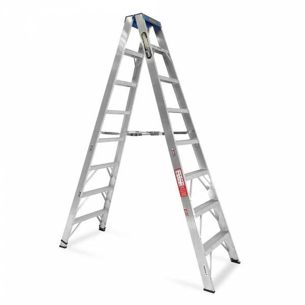 Gorilla Aluminium Double Sided Step Ladder 120 kg 8ft 2.4m