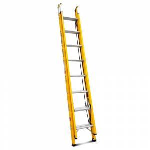 "Gorilla 2.4 - 3.9m 130kg Fibreglass Extension Ladder (8""-13"")"