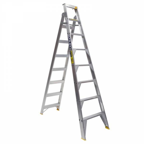 Bailey Professional Punchlock Aluminium Dual Purpose Ladder 8ft 2.4m - 4.4m | Bailey Professional Punchlock Aluminium Dual Purpose Ladder 8ft 2.4m - 4.4m | Bailey Professional Punchlock Aluminium Dual Purpose Ladder 8ft 2.4m - 4.4m
