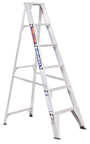 Ladamax Aluminium 150 kg Single Sided Ladder 4 Ft (1.2m) - Was $165 Now $132 | Ladamax Aluminium 150 kg Single Sided Ladder 4 Ft (1.2m) - Was $165 Now $132 | Ladamax Aluminium 150 kg Single Sided Ladder 4 Ft (1.2m) - Was $165 Now $132