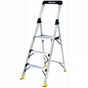 BAILEY Retail and Office Aluminium Platform Ladder 3 Steps 0.85m | BAILEY Retail and Office Aluminium Platform Ladder 3 Steps 0.85m | BAILEY Retail and Office Aluminium Platform Ladder 3 Steps 0.85m