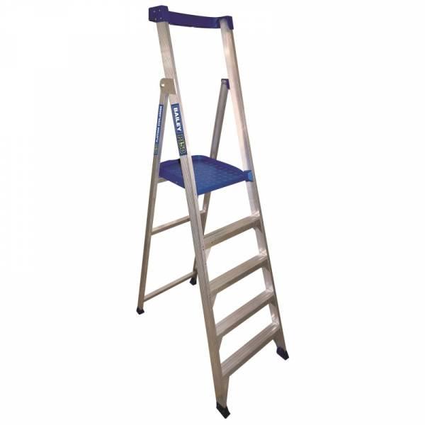BAILEY P150 Aluminium Platform Ladder 5 Steps 1.5m | BAILEY P150 Aluminium Platform Ladder 5 Steps 1.5m | BAILEY P150 Aluminium Platform Ladder 5 Steps 1.5m | BAILEY P150 Aluminium Platform Ladder 5 Steps 1.5m