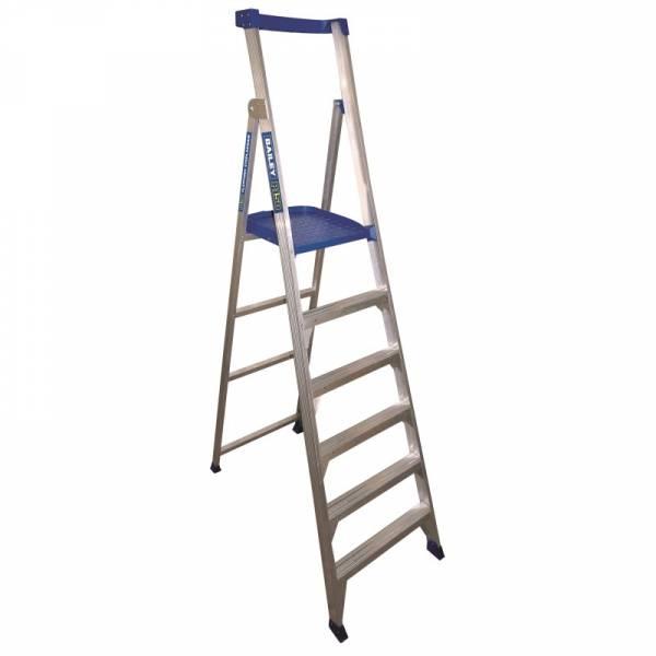 BAILEY P150 Aluminium Platform Ladder 6 Steps 9ft/6ft (2.7m/1.8m)   BAILEY P150 Aluminium Platform Ladder 6 Steps 9ft/6ft (2.7m/1.8m)   BAILEY P150 Aluminium Platform Ladder 6 Steps 9ft/6ft (2.7m/1.8m)   BAILEY P150 Aluminium Platform Ladder 6 Steps 9ft/6ft (2.7m/1.8m)   BAILEY P150 Aluminium Platform Ladder 6 Steps 9ft/6ft (2.7m/1.8m)