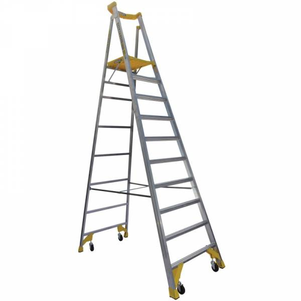 BAILEY P170 Job Station Aluminium Platform Ladder 10 Steps 3.0m | BAILEY P170 Job Station Aluminium Platform Ladder 10 Steps 3.0m | BAILEY P170 Job Station Aluminium Platform Ladder 10 Steps 3.0m