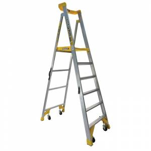 BAILEY P170 Job Station Aluminium Platform Ladder 6 Steps 1.8m | BAILEY P170 Job Station Aluminium Platform Ladder 6 Steps 1.8m | BAILEY P170 Job Station Aluminium Platform Ladder 6 Steps 1.8m