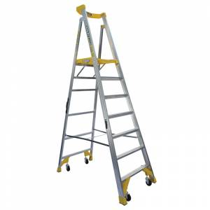 BAILEY P170 Job Station Aluminium Platform Ladder 7 Steps 2.1m | BAILEY P170 Job Station Aluminium Platform Ladder 7 Steps 2.1m | BAILEY P170 Job Station Aluminium Platform Ladder 7 Steps 2.1m