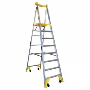 BAILEY P170 Job Station Aluminium Platform Ladder 8 Steps 2.4m | BAILEY P170 Job Station Aluminium Platform Ladder 8 Steps 2.4m | BAILEY P170 Job Station Aluminium Platform Ladder 8 Steps 2.4m