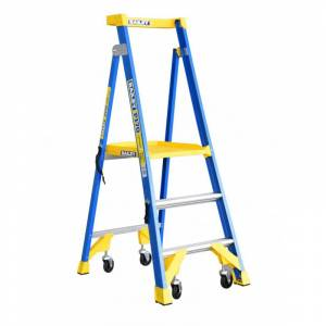 BAILEY P170 Job Station Fibreglass Platform Ladder 3 Steps 0.9m | Bailey P170 Job Station (Fibreglass) | Bailey P170 Job Station (Fibreglass) | Bailey P170 Job Station (Fibreglass) | Bailey P170 Job Station (Fibreglass) | Bailey P170 Job Station (Fibreglass) | Safety Gate for Bailey P170 FG Platform | Safety Gate for Bailey P170 FG Platform