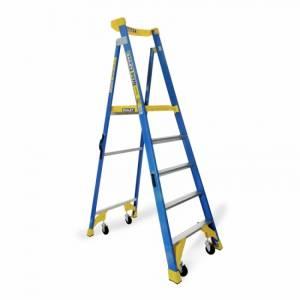 Platform Step Ladders - Fibreglass