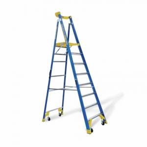 BAILEY P170 Job Station Fibreglass Platform Ladder 8 Steps 8ft 2.3m | BAILEY P170 Job Station Fibreglass Platform Ladder 8 Steps 8ft 2.3m | BAILEY P170 Job Station Fibreglass Platform Ladder 8 Steps 8ft 2.3m