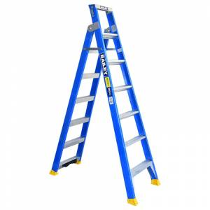 BAILEY Professional Fibreglass Dual Purpose Ladder with Pole Support 7ft 2.1m - 3.8m | BAILEY Professional Fibreglass Dual Purpose Ladder with Pole Support 7ft 2.1m - 3.8m | BAILEY Professional Fibreglass Dual Purpose Ladder with Pole Support 7ft 2.1m - 3.8m