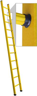 Branach Fibreglass CorrosionMaster 150kg Single Ladder