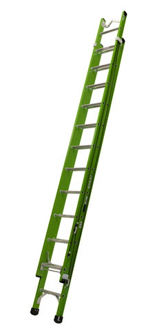 Bailey 4.2 - 7.0m 130kg Fibreglass Extension Ladder with Vee Bracket | Bailey 4.2 - 7.0m 130kg Fibreglass Extension Ladder with Vee Bracket | Bailey 4.2 - 7.0m 130kg Fibreglass Extension Ladder with Vee Bracket