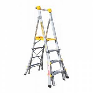 Gorilla 4-5-6 Adjustable Aluminium Platform Ladder | Gorilla 4-5-6 Adjustable Aluminium Platform Ladder | Gorilla 4-5-6 Adjustable Aluminium Platform Ladder