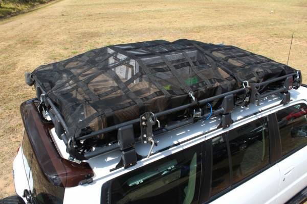 Roof Rack Cargo Nets - Gladiator - Vetner - Queensland, Australia | Gladiator Medium Roof Rack Cargo Net
