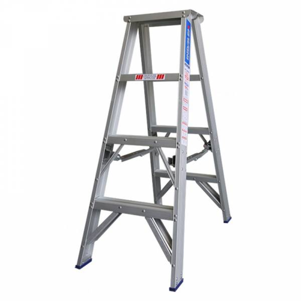 Indalex Pro Series Aluminium Double Sided Step Ladder 4ft 1.2m