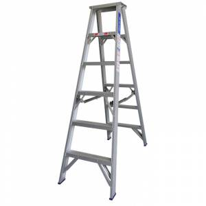 Indalex Pro Series Aluminium Double Sided Step Ladder 6ft 1.8m