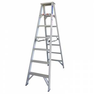Indalex Pro Series Aluminium Double Sided Step Ladder 7ft 2.1m