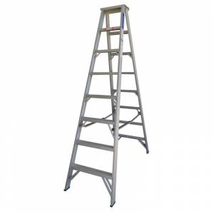 Indalex Pro Series Aluminium Double Sided Step Ladder 8ft 2.4m