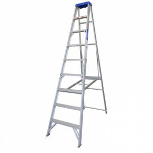 Indalex Single Sided Aluminium Ladder 9' (2.7m)