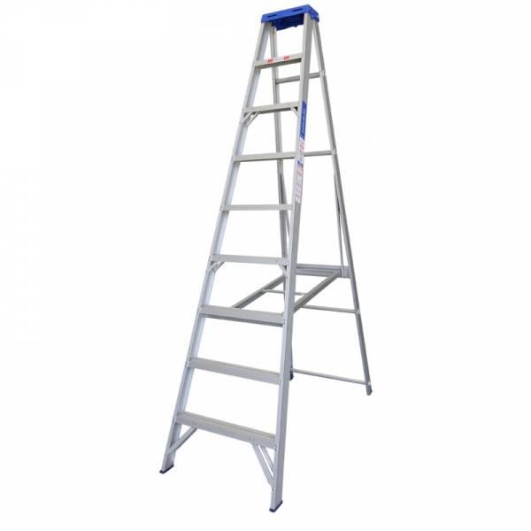 Indalex Single Sided Aluminium Ladder 9' (2.7m)