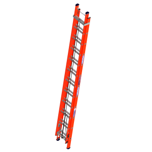 "Ladamax Fibreglass Extension Ladder 10"" - 17"" (3.3m - 5.1m) 