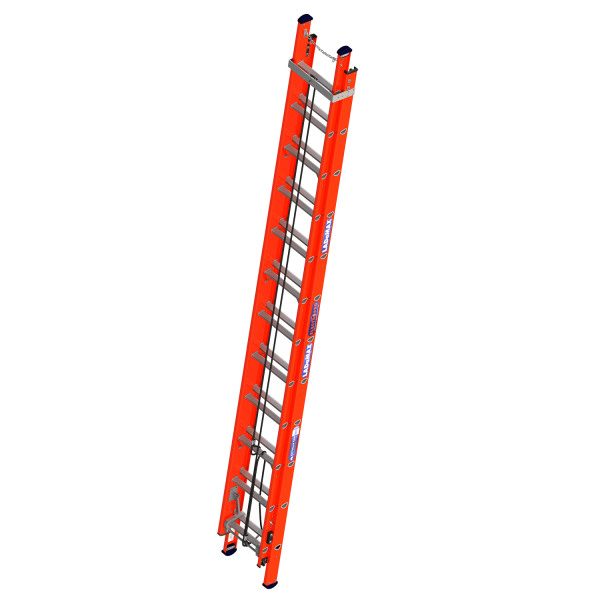 """Ladamax Fibreglass Extension Ladder 10"""" - 17"""" (3.3m - 5.1m)   Ladamax Fibreglass Extension Ladder 10"""" - 17"""" (3.3m - 5.1m)   Ladamax Fibreglass Extension Ladder 10"""" - 17"""" (3.3m - 5.1m)"""
