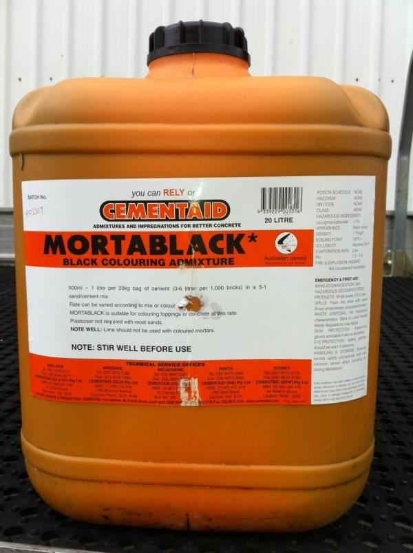 Cementaid MortarBlack