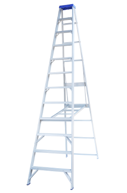 Indalex Single Sided Aluminium Ladder 10' (3m)