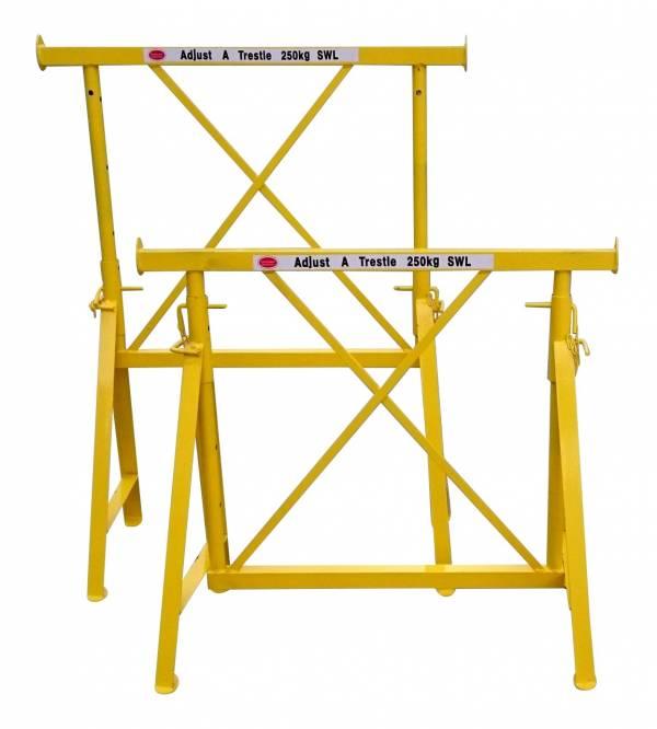 """Adjustable """"Brickies"""" Trestles (0.8m - 1.2m)   Adjustable """"Brickies"""" Trestles (0.8m - 1.2m)   Adjustable """"Brickies"""" Trestles (0.8m - 1.2m)   Adjustable """"Brickies"""" Trestles (0.8m - 1.2m)"""