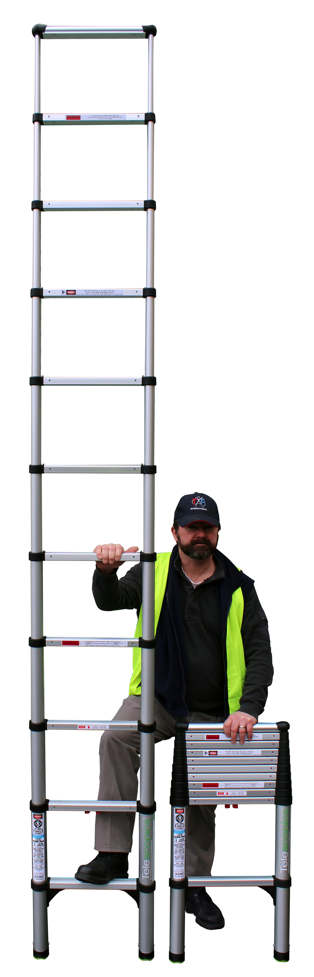Telescopic Ladder 1600E | Telescopic Ladder 1600E | Telescopic Ladder 1600E